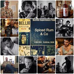 Barlife Experience Tour zum Thema Spiced Rum & Co Workshop, Spiced Rum, Spices, Tours, Movie Posters, Fictional Characters, Atelier, Spice, Work Shop Garage