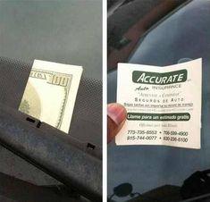 brilliant marketing flyer idea..:)