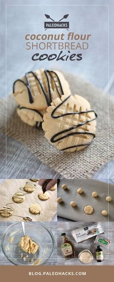 Coconut flour shortbread cookies contain only 5 ingredients, and take only 15…
