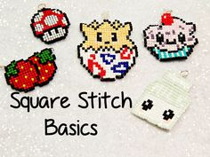 DIY Square Stitch Basics : How To! ¦ The Corner of Craft