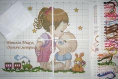 Baby Cross Stitch Patterns, Le Point, Cross Stitching, Kids Rugs, 3, Anna, Punto De Cruz, Cross Stitch, Kid Friendly Rugs