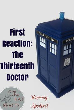 Here are my initial thoughts about the casting of the Thirteenth Doctor! The Kat, 13th Doctor, Initials, About Me Blog, It Cast, Thoughts, Shit Happens, Ideas