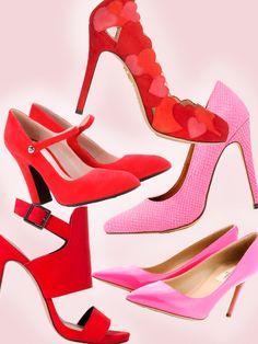 20 escarpins escarpins rouges chaussures chaussure marie du rouge chaussure mariage rose duo gagnant paris 2014 grce - Chaussure Fushia Mariage