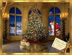 Christmas Wallpaper, Christmas Tree, Holiday Decor, Painting, Gif, Anton, Red Color, Grande, Google