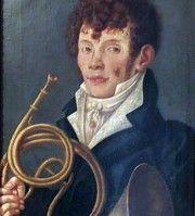 Der Hornist Luigi Belloli