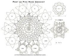 Centrinho+Flores+Croche+graf.+PRoseCrochet.JPG (899×721)