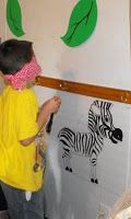 Pin the tail on the zebra (not sure if Patrick will be old enough but we can get drunk and play)