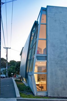 Concrete House / Simon Twose Architect - Kelburn Wellington, New Zealand