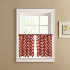 colordrift misha 2-pack tier curtains   bath remodel   pinterest