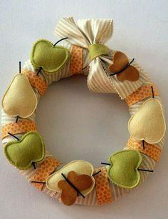 Patchwork fruity garland made by MariadoSocorro Souzagama, Brasil.