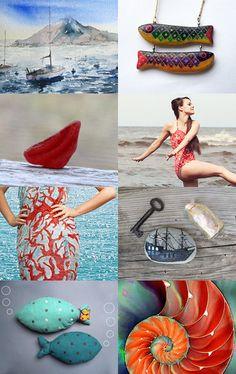 Life is better at the beach by Alicja Piotrowska on Etsy--Pinned with TreasuryPin.com