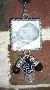 www.sassyandsouthern.com for Custom Photo Pendants and charms!   Sassy and Southern
