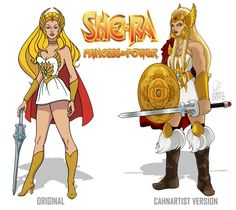 She-Ra New Design by Cahnartist on DeviantArt
