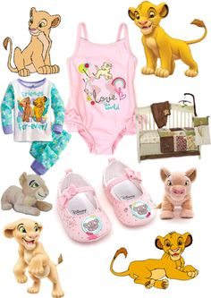"""""""The lion king: Baby girl"""" by lizshow ❤ liked on Polyvore"""