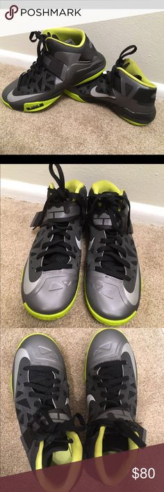 Big Discount Nike Zoom Lebron Soldier 8 Cheap sale Black Metalli