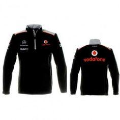 Vodafone McLaren Mercedes Black Team Sweatshirt Paddock Studio. Available at www.paddockstudio.com