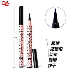 1 pcs Hot Women Lady Beauty trang điểm bút kẻ mắt màu đen không thấm nước lâu dài Eye Liner Pencil lỏng Pen Trang điểm Mỹ phẩm công cụ dễ thương