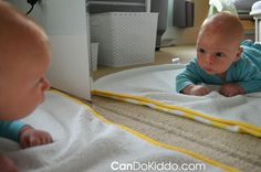 Montessori baby tummy time :)