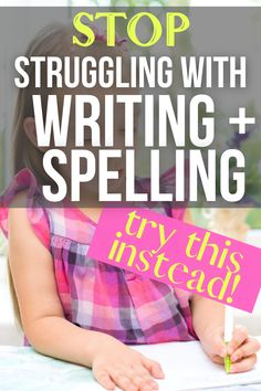 Need homeschool writing ideas or spelling word practice? Try fun writing help for kids and how to help struggling spellers! #lessons #writing #spelling #homeschooling Best Homeschool Curriculum, Writing Curriculum, Teaching Writing, Writing Help, Homeschooling, Teacher Lesson Plans, Preschool Lesson Plans, Grammar Lessons, Writing Lessons