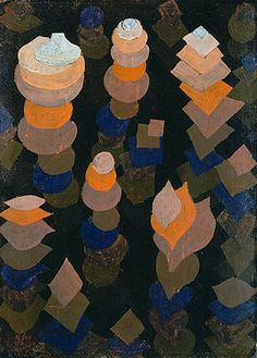 Paul Klee - -Wachstum der Nachtpflanzen' - (1922)