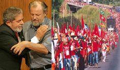 Lula está reunido com líderes da CUT e MST em reunião secreta em São Paulo