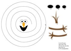Free Pin The Nose On Olaf Game Printable Print In Poster