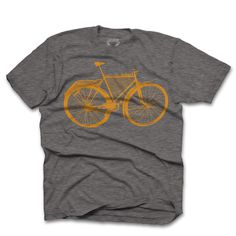 Bicycle Soul Tee by Urban Octopus