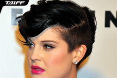 O sidecut fica lindo no cabelo longo, mas combina tanto com o curtinho! Lindo, né?  Foto: Divulgação