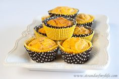Sweet potato and cheese muffins