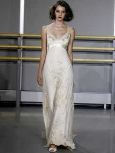Claire Pettibone 2007. A beautiful, bridal nightgown. and i love pajamas...
