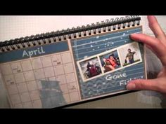 Taking a look at the MDS Scrapbook Calendar, My Digital Studio, Jenny Peterson, Stampin Up Demonstrator