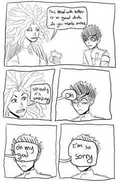 kiyotakabunnymaru: I was reminded this comic exists hagakure tries his best