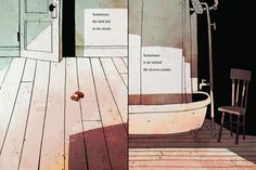 The Dark: An Illustrated Meditation on Overcoming Fear from Lemony Snicket and Jon Klassen | Brain Pickings