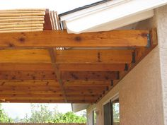 Raised Patio With Pergola farmhouse patio fixer upper. Wood Patio, Patio Roof, Back Patio, Pergola Patio, Diy Patio, Pergola Kits, Pavers Patio, Patio Awnings, Patio Plants