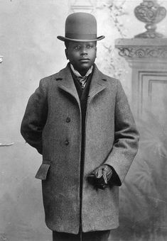 African American Man by Black History Album, via Flickr