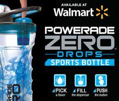 powerade zero bottle