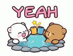 With Tenor, maker of GIF Keyboard, add popular Milk Milk And Mocha Bear animated GIFs to your conversations. Share the best GIFs now >>> Cute Couple Cartoon, Cute Cartoon Pictures, Cute Love Pictures, Cute Love Cartoons, Chibi Cat, Cute Chibi, Cartoon Gifs, Cute Cartoon Wallpapers, Bunny Love