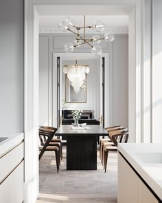 Working in period properties can be so rewarding. High ceilings, grand proportions and oodles of nat - Interior Design Examples Interior Design Living Room, Living Room Decor, Living Spaces, Bedroom Decor, Interior Design Trends, Interior Decorating, Dining Room Inspiration, Furniture Inspiration, Style Inspiration