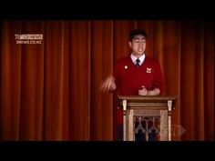Published on Jul 6, 2012 Student and prefect from Mt Roskill Grammar; Joshua Iosefo, performs an amazing speech. He is Samoan and Niuean. This is his speech.  ~ coverage from TV3 News, in association with Campbell Live, New Zealand.