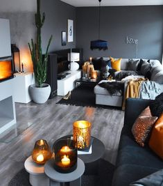 57 grey small living room apartment designs to look amazing 24 solnet-sy 57 grey small living room apartment designs to look amazing 24 solnet-sy Sascha B de saschabaede Interior 57 Grey nbsp hellip Living Room designs Apartment Design, Living Room Orange, Small Apartment Living Room, House Interior, Contemporary Home Decor, Living Room Grey, Living Decor, Home And Living, Living Room Designs