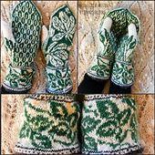 Warm mittens with generous cuff Mittens Pattern, Knit Mittens, Mitten Gloves, Knitting Socks, Knit Socks, Fall Jeans, Fair Isle Pattern, Fair Isle Knitting, Ravelry