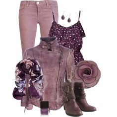 """LOVE this jacket!! """"Shades of Purple"""" by chrissykp on Polyvore"""