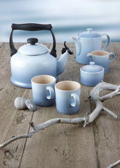Amazon.com - Le Creuset Coastal Blue Mug -