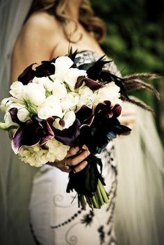 163 best Black & White Flower Arrangements & Bouquets images on ...