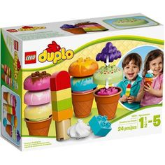 LEGO DUPLO Creative Play Creative Ice Cream Building Set