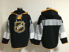d1cb2190c2b 2016 All Star Old Time Hockey Jerseys Blank No Name Number Black Hoodie  Pullover Sweatshirts Winter Jacket From Qqq8