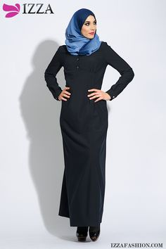 This model is really ravishing! Very chic and it wears comfortable because the fabric stretches. Discover more: www.izzafashion.com