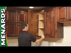 menards kitchen cabinets. Kitchen Cabinet Installation  How To Menards These are the cabinets we re having installed in a couple weeks