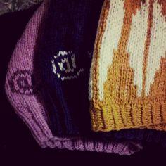 Knitting, marionR