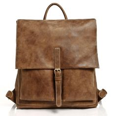 Raiders Pack Vintage Tribe Leather | Men's Backpacks and Bags | Roots
